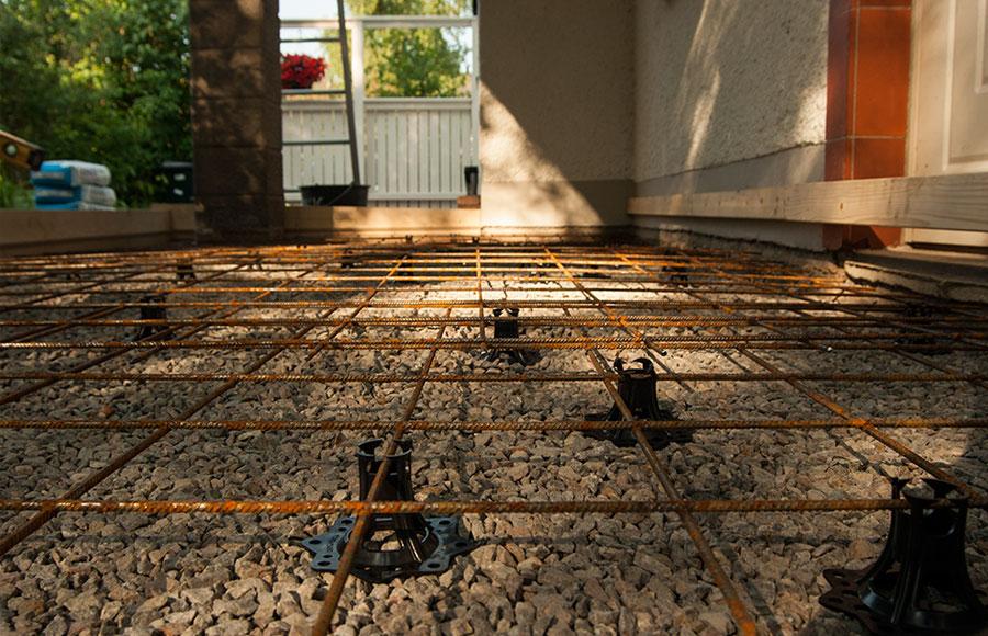 Armering av betong