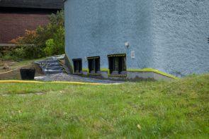 Renovering av hussockel Månvägen 19 Tyresö